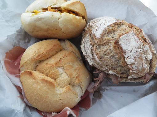 Sandwiches from Porto, Portugal