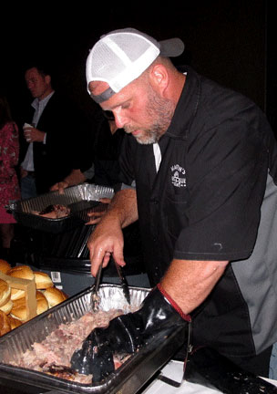 Patrick Martin of Martin's BBQ Joint in Nolensville, TN.