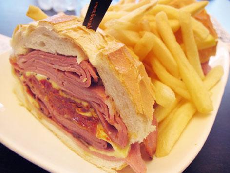 Mortadella Sandwich Sao Paulo a Mortadella Sandwich From Sao