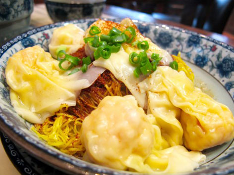 Shrimp roe noodles from Lou Kei in Macau