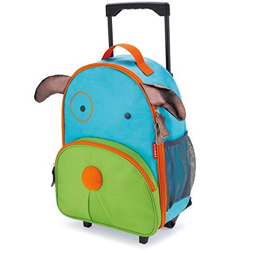 Skip Hop little kids' rolling bag, for traveling kids