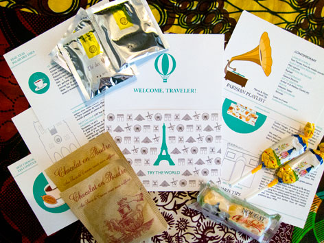 Try the World Paris box