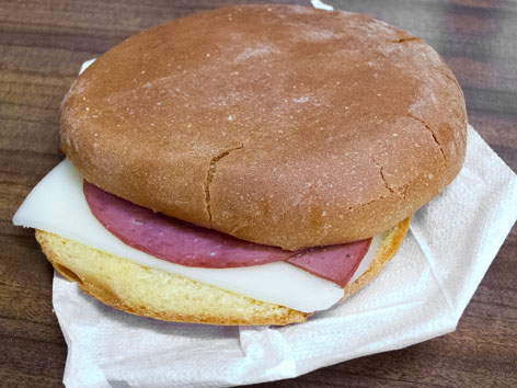 The Wilensky Special, a bologna sandwich famous in Montreal