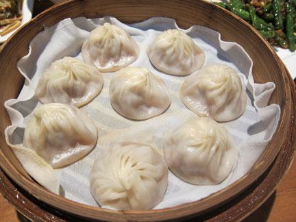 Xiao long bao in Shanghai