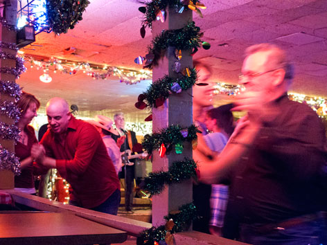 Dancing at Broken Spoke in Austin, Texas
