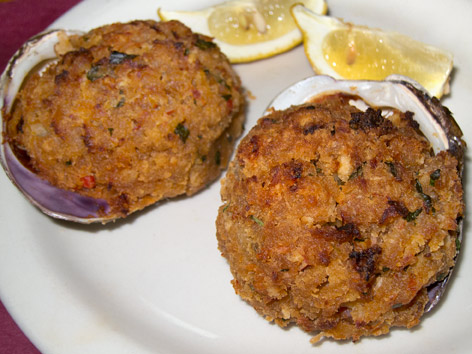 Stuffies, stuffed quahogs - Rhode Island | Local Food Guide