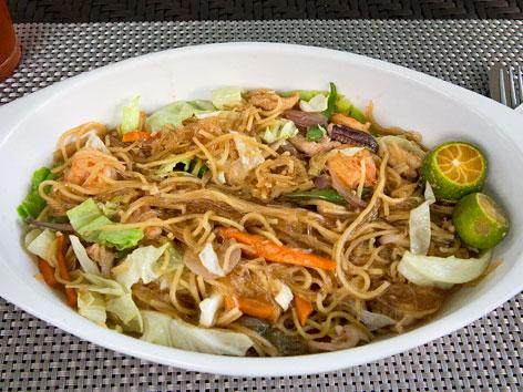 Bam-i noodles from Cebu, Philippines