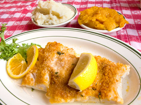 Boston scrod of Durgin Park.