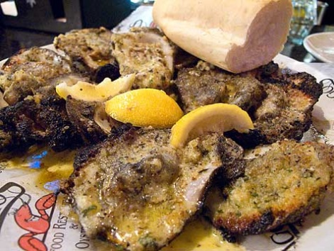 Charbroiled oysters new orleans louisiana local food for Food bar new orleans