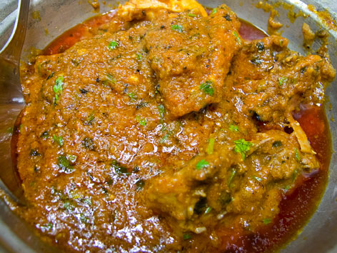 Chicken changezi from Al-Jawahar in Delhi, India.