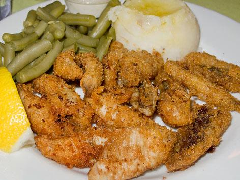 Lake perch detroit michigan local food guide for Freshwater fish food
