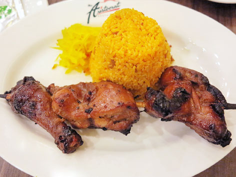 Inihaw na manok from The Aristocrat in Malate, Manila, the Philippines