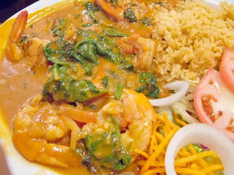 Interior Mexican Food Austin