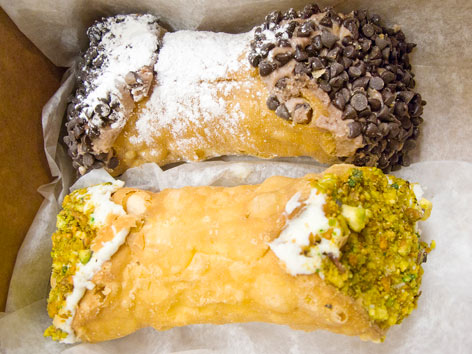 Cannolis from Mike's Pastry in Boston.