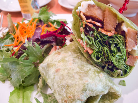 DOSSIER : Qu'est-ce que l'alimentation vivante  Organic-vegan--vegetarian-food