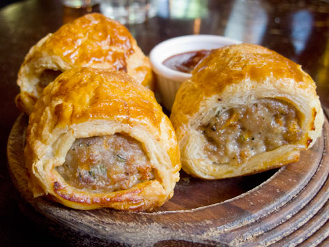 Sausage Roll London England Local Food Guide