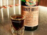 A shot of Fernet in San Francisco, CA