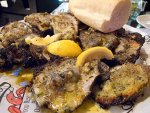 Charbroiled oysters from Drago's in New Orleans.