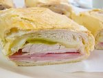 Cuban sandwich from Luis Galindo Latin American Restaurant & Cafeteria in Miami, Florida