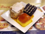 Leche flan and other desserts from Manila, the Philippines