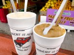 Milkshakes of local fruit from Robert is Here in Homestead, Florida.