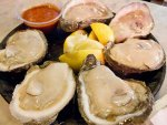 Oysters on the half shell from Acme Oyster House in New Orleans.