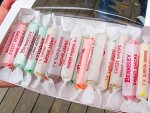Saltwater taffy from Berkeley Sweet Shoppe on the Seaside Heights boardwalk