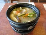 Bowl of sinigang in Manila, the Philippines