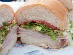 A Jersey Mike's turkey sub sandwich found all over New Jersey.
