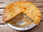 Tourtiere, a traditional Quebecois meat pie, from Montreal, Canada