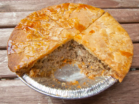 Tourtiere Montreal Quebec Local Food Guide