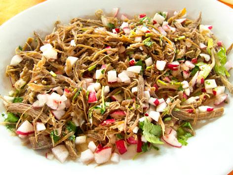 Salpicon de venado - Coastal Yucatan, Mexico - Local Food ...