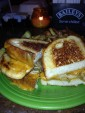Parmageddon (pierogi-stuffed grilled cheese)