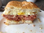 Pork Roll, Egg, and Cheese sandwhich