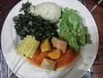 Local Kenyan Meal
