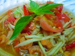 Som Tam, Spicy Papaya Salad