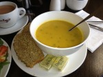 Potato-Squash Soup with Brown Bread